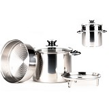 SUPRA Multi Steamer Pot 24cm [SSSMSP24] - Steamer